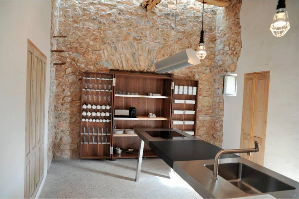 Kelosa Ibiza. Modern finca kitchen