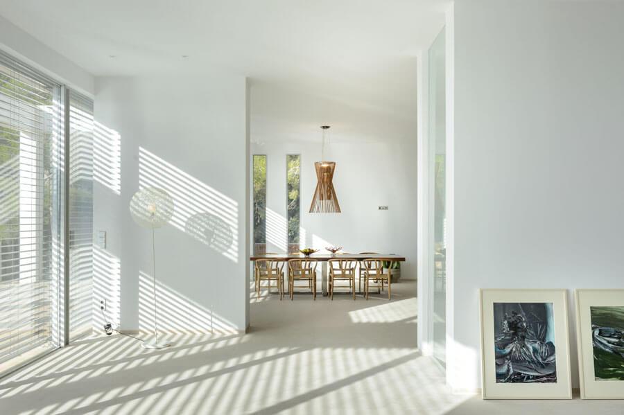 living room Es Cubells New Build Villa For Sale